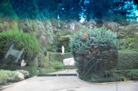 Front gates to the Playboy Mansion